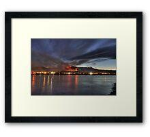 Wenatchee Wildfire Framed Print