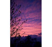 Kentish sky Photographic Print