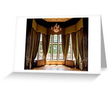 Draped in Elegance  Greeting Card
