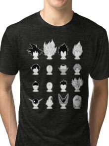Ka-me-ha-me-Hair Tri-blend T-Shirt