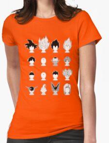 Ka-me-ha-me-Hair Womens Fitted T-Shirt