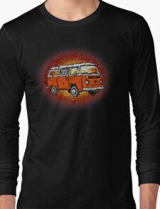 Camper Van Go Sunset Long Sleeve T-Shirt