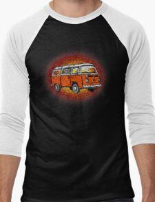 Camper Van Go Sunset Men's Baseball ¾ T-Shirt