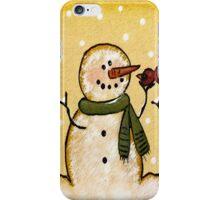 Build a Snowman iPhone Case/Skin