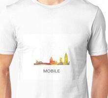 Mobile, Alabama Skyline WB1 Unisex T-Shirt