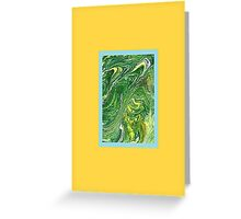 JWFrench Collection Marbled Card 11 Greeting Card