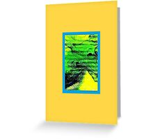 JWFrench Collection Marbled Card 13 Greeting Card