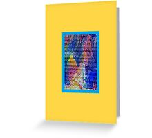 JWFrench Collection Marbled Card 14 Greeting Card