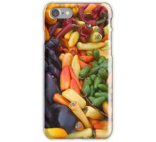 Cornucopia-Farmers market in Santa Barbara iPhone Case/Skin