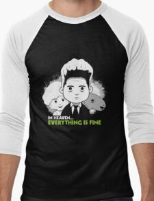 "Saturday Morning ""Eraserhead"" Men's Baseball ¾ T-Shirt"