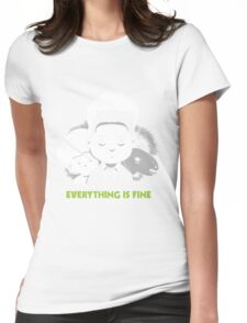 "Saturday Morning ""Eraserhead"" Womens Fitted T-Shirt"