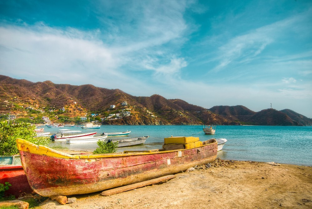 Fishermen Town  by Alejandro  Tejada