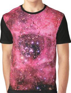 Rosette Nebula [Rose] Graphic T-Shirt