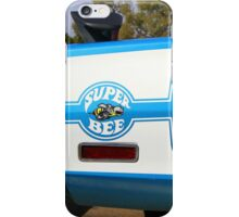Super Bee Graphic Shirt iPhone Case/Skin