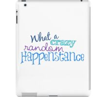 Crazy Random Happenstance iPad Case/Skin