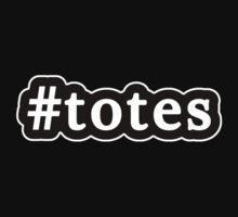 Totes - Hashtag - Black & White by graphix