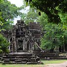 Swallowed by jungle - Cambodian temple by petejsmith