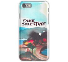 Free Palestine iPhone Case/Skin