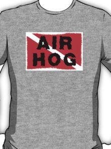 """SCUBA  Flag """"Air Hog"""" T-Shirt"""