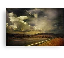 Been Down This Road Before Canvas Print