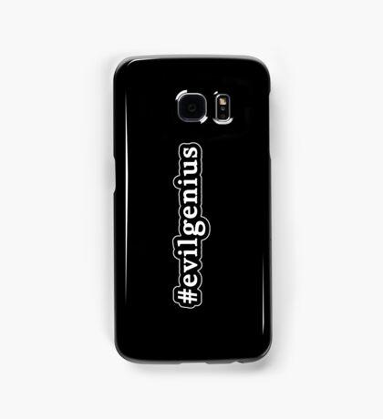 Evil Genius - Hashtag - Black & White Samsung Galaxy Case/Skin