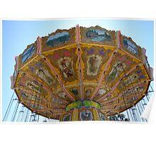 Swing Carousel Poster
