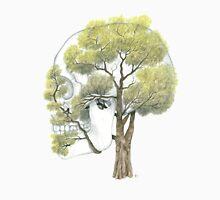 Spring Jacaranda Skull (no background) Unisex T-Shirt