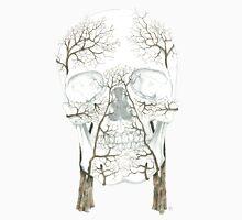 Winter Jacaranda Skull (no background) Unisex T-Shirt