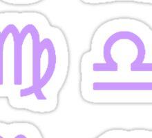Purple Zodiac Sticker