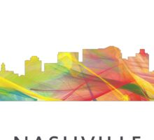 Nashville, Tennessee Skyline WB1 Sticker