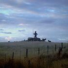 Chainman, Heritage Hwy, Tasmania by Wendy Dyer