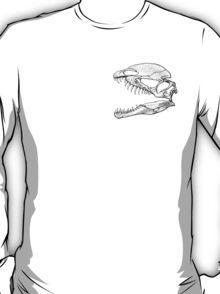 Dilophosaur on my Chest! 2 T-Shirt