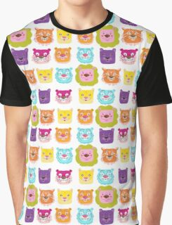 Glowing cats! Graphic T-Shirt