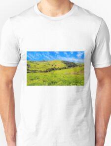 Green Meadow, Santa Ynez valley, CA Unisex T-Shirt