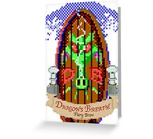 Dragon Breath - Fiery Brew Greeting Card