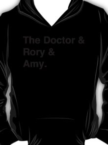 Doctor who & companions T-Shirt