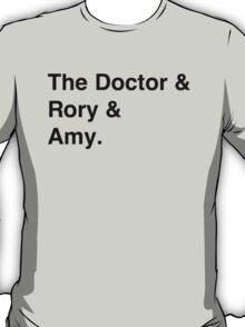 Doctor who & companions T-Shirt