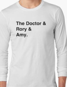 Doctor who & companions Long Sleeve T-Shirt