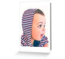 Hoodie Greeting Card