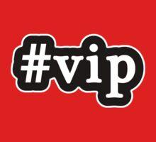 VIP - Hashtag - Black & White Baby Tee