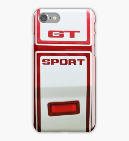 Dodge Graphic Shirt iPhone Case/Skin