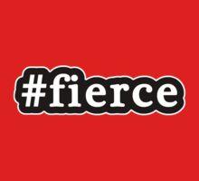 Fierce - Hashtag - Black & White Kids Tee