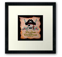 Pirates of the Pancreas Framed Print