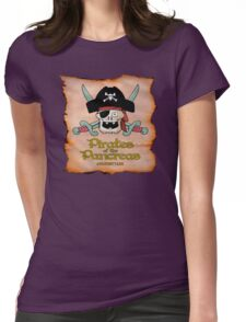 Pirates of the Pancreas Womens Fitted T-Shirt