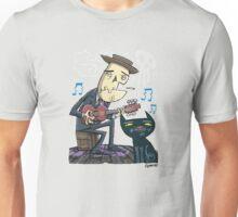 Mr Bones Plays the Blues - No background Unisex T-Shirt