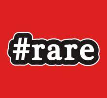 Rare - Hashtag - Black & White Kids Tee