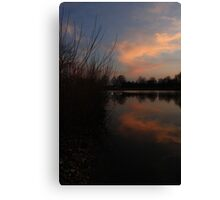 Sky Lake Canvas Print