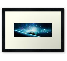 Alternate Realm Framed Print