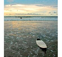 Playa Tamarindo Surf and Sunset Photographic Print
