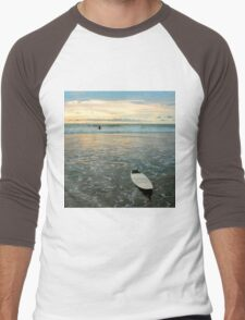 Playa Tamarindo Surf and Sunset Men's Baseball ¾ T-Shirt